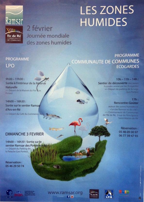 2 & 3 Février : Journée Mondiale des Zones Humides