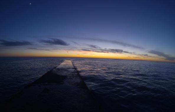 Ciel d' hiver à l' Ile de Ré